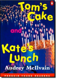 Tom's cake and Kate's lunch