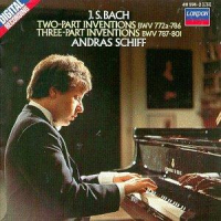 Two-part inventions BWV 772a-786 [Audioregistrazione]