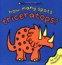 How many spots, triceratops?
