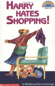 Harry hates shopping!