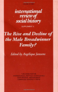 The rise and decline of the male breadwinner family?