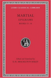 Epigrams / Martial ; edited and translated by D. R. Shackleton Bailey. 3