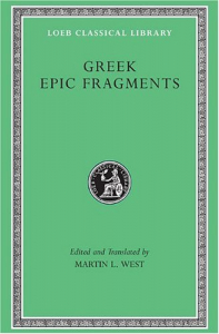 Greek epic fragments