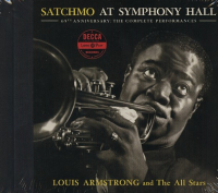 Satchmo at Symphony Hall [Audioregistrazione]