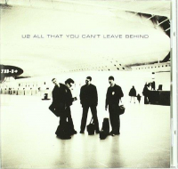 All that you can't leave behind [Audioregistrazione]