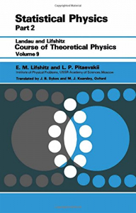 9: Statistical physics. 2, Theory of the condensed state