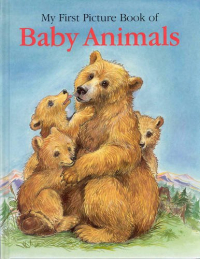 My first picture book of baby animals