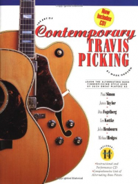The art of contemporary Travis picking [musica a stampa]