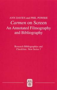 Carmen on screen