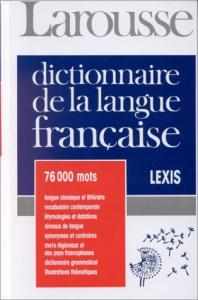 Dictionnarie de la langue française