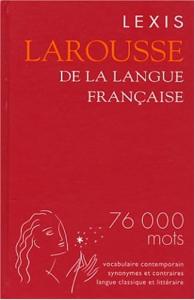Larousse de la langue française