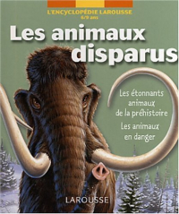 Les animaux disparus