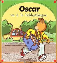 Oscar va à la bibliothèque