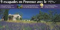 9 escapades en Provance avec le TGV