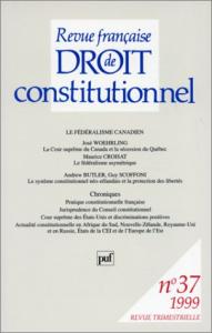 Le fédéralisme canadien