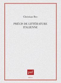 Précis de littérature italienne