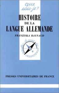 Histoire de la langue allemande