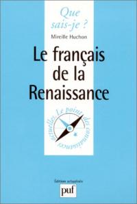 Le français de la Renaissance