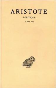 Politique / Aristote ; texte ètabli et traduit par Jean Aubonnet. 3.1: Livre 7.