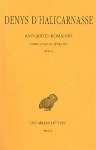 1: Introduction generale et livre 1.