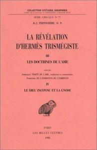 3: Le doctrines de l'ame