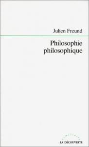 Philosophie philosophique