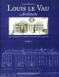1: Les immeubles et hotels particuliers parisiens