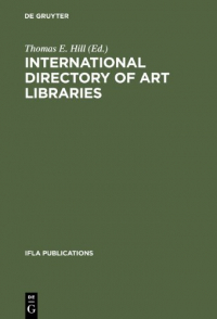 International directory of art libraries
