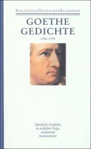 Goethe Gedichte, 1756-1799