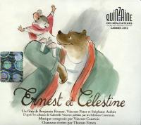 Ernest et Célestine : bande originale du film / [musique composée par Vincent Courtois ; chansons écrites par Thomas Fersen]