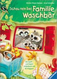 Schau rein bei Familie Waschbar