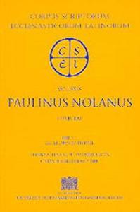 1: Sancti Pontii Meropii Paulini Nolani Epistulae