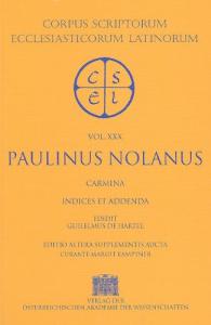 2: Sancti Pontii Meropii Paulini Nolani Carmina