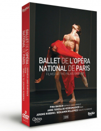 Ballet de l'Opéra National de Paris filmed at the Palais Garnier
