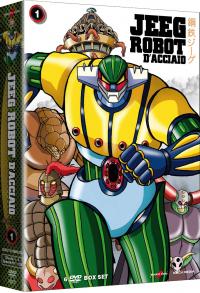 Jeeg robot d'acciaio / [autore originale Go Nagai]. 1