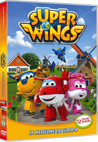 Super Wings [DVD]. [1]: In missione in Europa