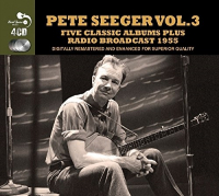 5 Classic Albums Plus Radio Broadcast 1955 Vol. 3 / Pete Seeger