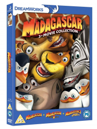 Madagascar 3-movie collection