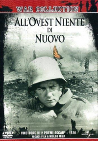 All'ovest niente di nuovo [DVD] / starring Lew Ayres, Louis Wolheim ... [et al.] ; directed by Lewis Milestone ; novel by  Erich Maria Remarque