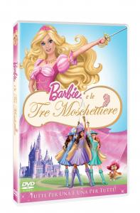 Barbie e le tre moschettiere [DVD]