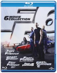 Fast and furious [Videoregistrazione] 6 movie collection