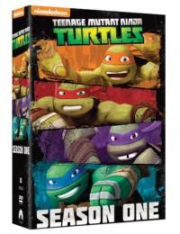 Teenage Mutant Ninja Turtles - Stagione 01 (4 Dvd)