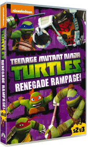 Teenage Mutant Ninja Turtles. Stagione 2, volume 3