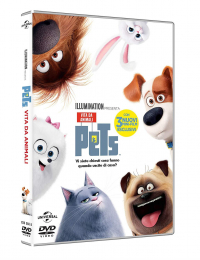 Pets [DVD] : vita da animali / [directed by Chris Renaud]