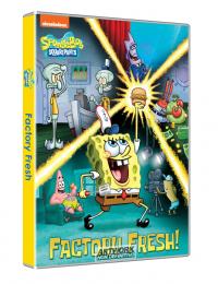 Spongebob Squarepants. Fresco di fabbrica
