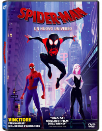 Spider-Man [Videoregistrazione] : un nuovo universo / directed by Bob Persichetti, Peter Ramsey, Rodney Rothman ; music by Daniel Pemberton ; screenplay by Phil Lord and Rodney Rothman