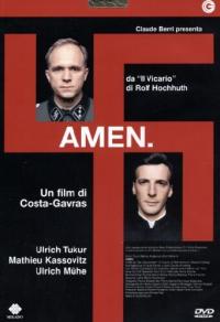 """Amen [DVD] / tratto da """"Der Stellvertreter"""" di Rolf Hochhuth ; sceneggiatura di Costa-Gavras e Jean Claude Grumberg ; con Michel Duchaussoy ... [et al.] ; regia di Costa-Gavras"""
