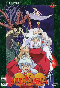 Inuyasha. Season 4. 1st travel