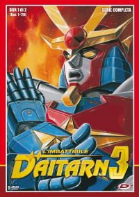 L'imbattibile Daitarn 3, box 1 di 2