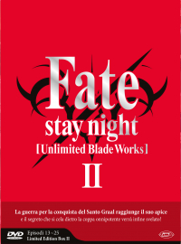 Fate stay night: Unlimited blade works. 2